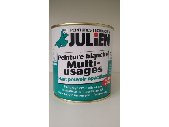 Peinture Blanche Universelle Multi Supports Mate De Julien