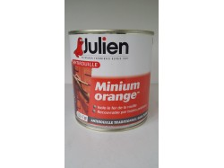 Peinture MINIUM orange JULIEN 0.5 L