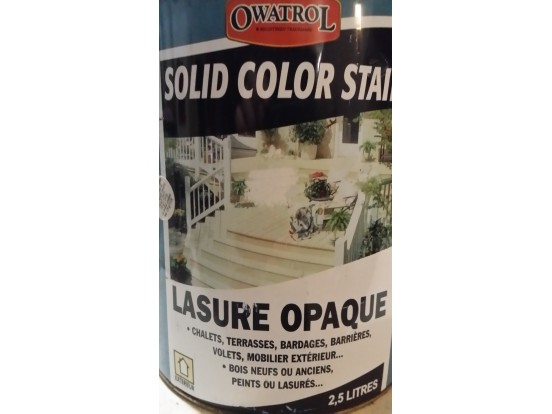 Lasure opaque Owatrol