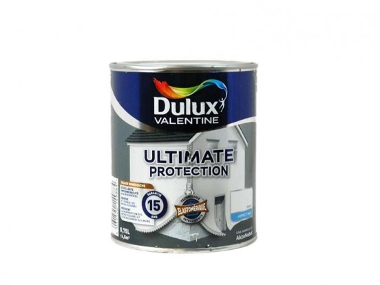 peinture monocouche pour fa ade ultimate protection de dulux prix bas. Black Bedroom Furniture Sets. Home Design Ideas
