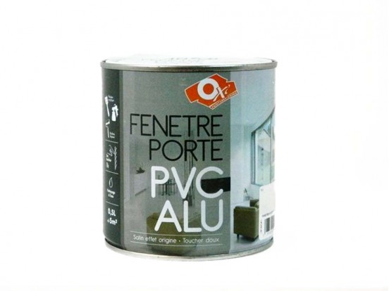 peinture pas ch re alu pvc sans sous couche r novation finition oxi. Black Bedroom Furniture Sets. Home Design Ideas