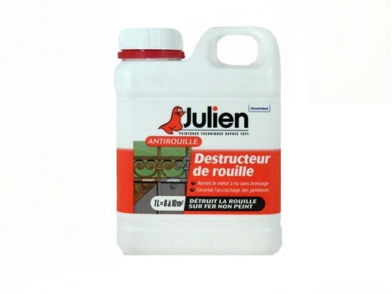 Destructeur de rouille Julien