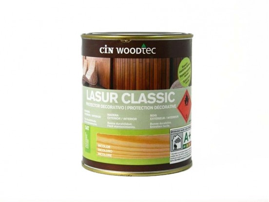 Lasur super satinée Cin Woodtec